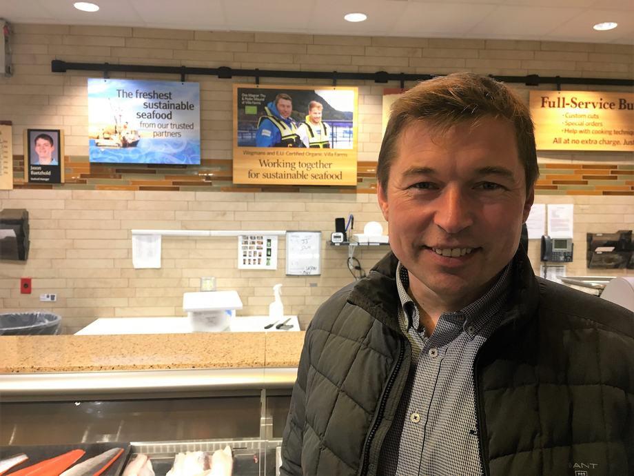 Ove Thu som er sjef i Villa Seafood, har nå blitt valgt som direktør i det skotske selskapet Organic Sea Harvest som sier de skal bli best på økologisk laks. Foto: privat.