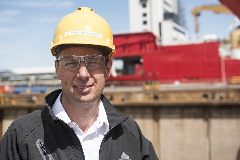 Lars Fischer tar over sjefsstolen i Orskov Yard i Danmark