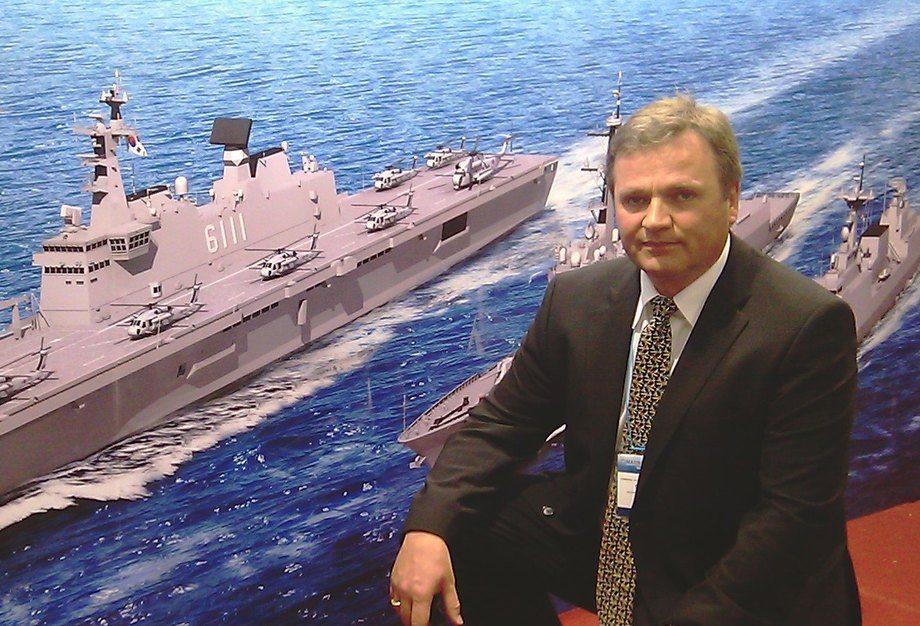 Administrerande direktør i STADT, Hallvard L. Slettevoll