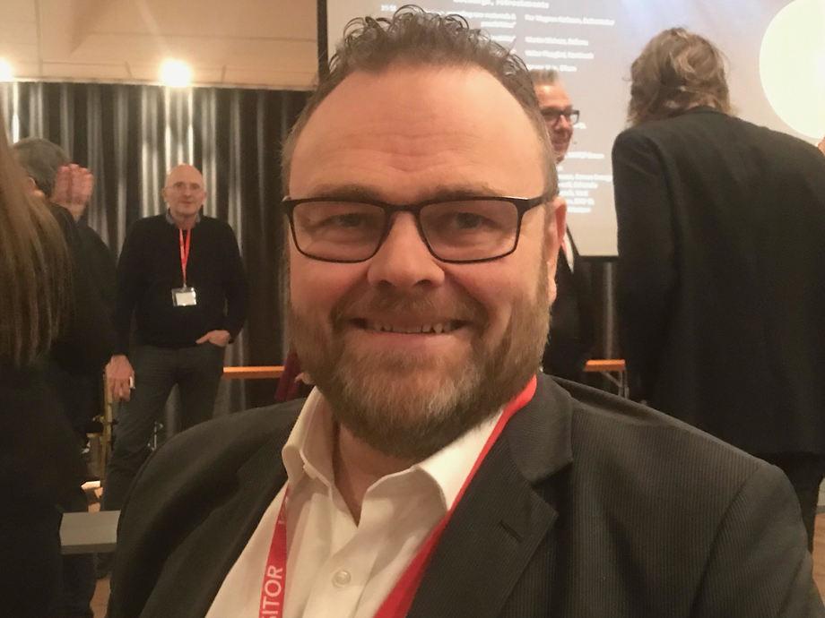 John Roger Nesje er gjenvalgt som styreleder i Maritim Battery Forum. Foto: Sigbjørn Larsen.