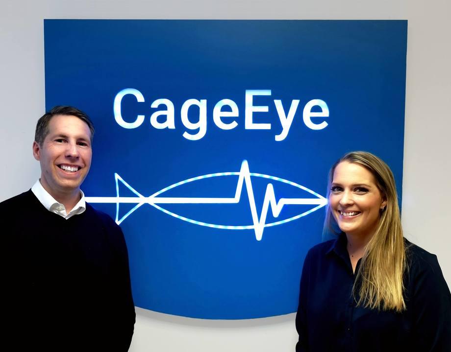 CageEye har utvidet ledergruppen med Kasper Løberg Tangen ansatt som Chief Operating Officer (COO) og Lena Bakken Køso som Chief Financial Officer (CFO). Foto: CageEye.