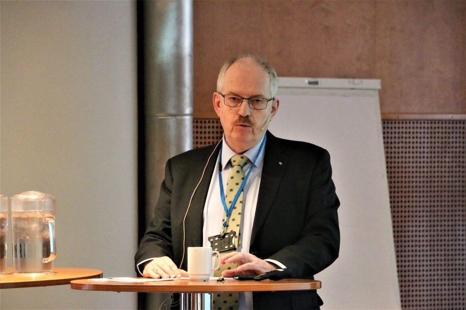 Teknisk direktør i Sjøfartsdirektoratet, Lasse Karlsen, tror fremtidens sjøfolk har gode utsikter