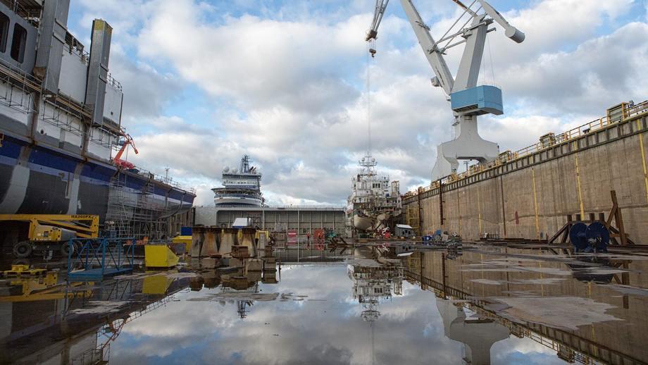 Det er Rauma Shipyard som skal bygge den nye fergen som Deltamarin skal designe. Foto: Rauma Shipyard.