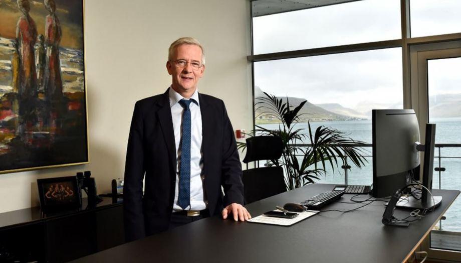 Bakkafrost chief executive Regin Jacobsen: