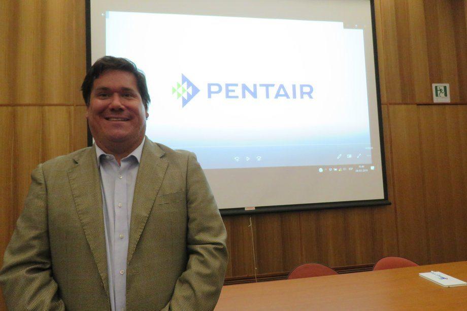 Juan Pablo Barrales, gerente de Administración y Ventas de Pentair Chile. Foto: Jonathan Garcés, Salmonexpert.