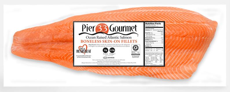 Bajo la marca Pier 33 Gourmet, Camanchaca lanzará nuevos productos en Boston. Foto: Camanchaca.