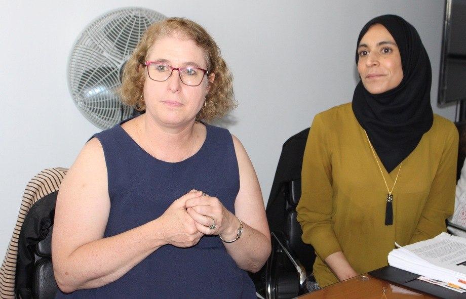 Dra.Jeanne Simon y Dra. Saba Siddiki. Foto: Centro Incar.