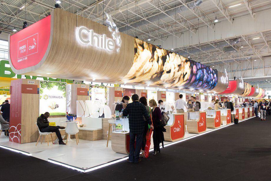 Salmón, trucha, mejillones, jibia, jurel, tilapia, mahi mahi, bacalao de profundidad y pez espada son algunos de los productos que ofrecerán las empresas en el pabellón de Chile de la Feria de Boston 2019. Foto: ProChile.