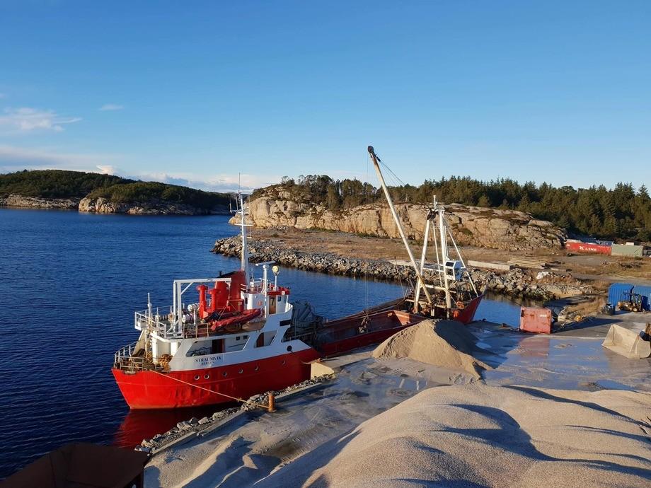 MS «Straumvik» er den eldste båten i flåte til Mostraum. Foto: Mostraum