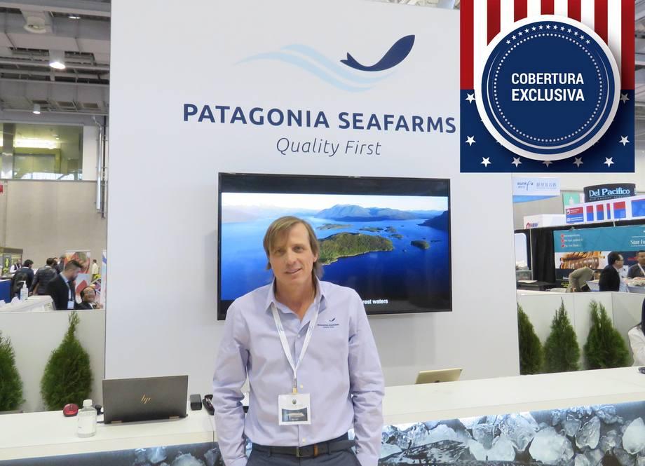 Edgard Beyer, CEO de Patagonia Seafarms. Foto: Francisco Soto, Salmonexpert.