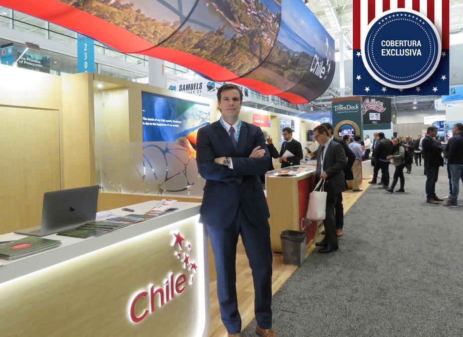 Matías Pinto, agregado comercial en Washington DC de ProChile. Foto: Francisco Soto, Salmonexpert.