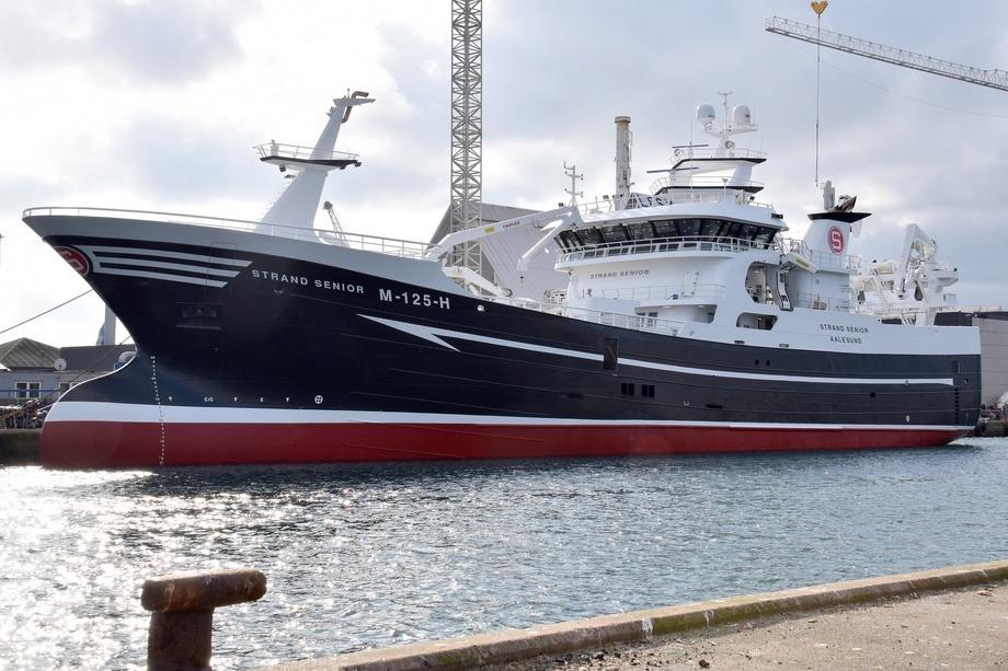 «Strand Senior» ankom Norge og sin nye hjemmehavn i mars 2019