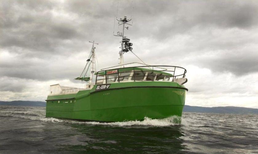 Ny hybrid-elektrisk sjark fra Selfa. Illustrasjon Selfa Arctic AS