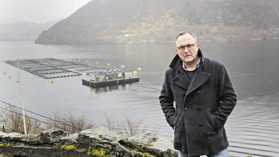 Ordfører Jarle Skeidsvoll ønsker ny teknologi velkommen til Osterøy. Foto: Ørjan Deisz/Bergens Tidende