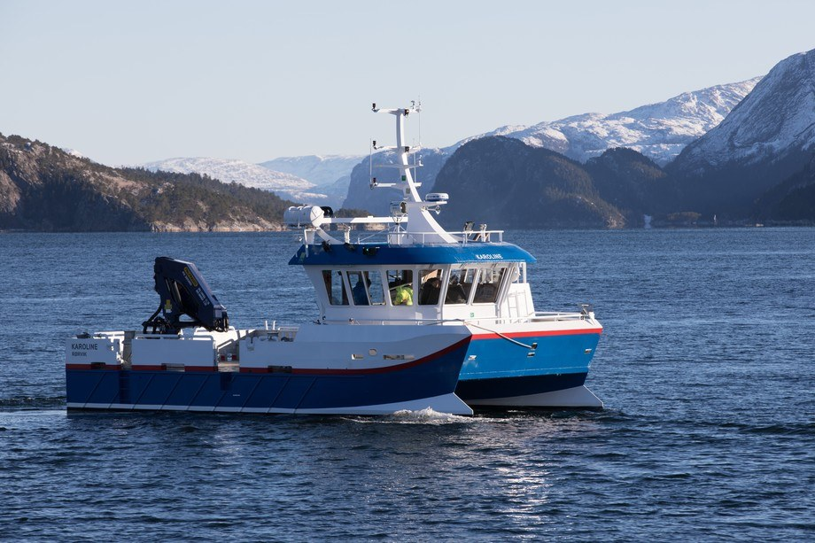 Midt-Norsk Havbruk sin nye båt