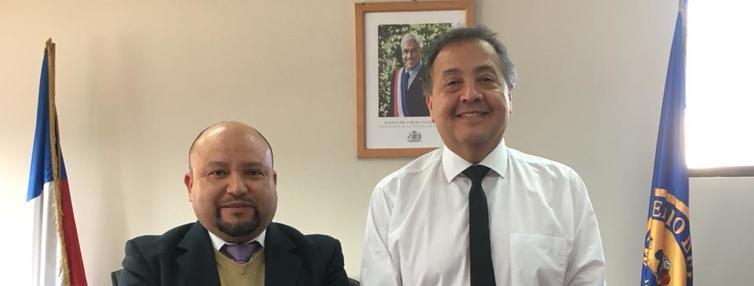 Rodrigo Aguilera Silva asumió como director zonal de Pesca y Acuicultura en la región de Aysén. Foto: Subpesca.