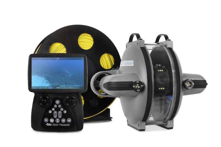 Nuevo DTG3 ROV de la compañía canadiense. Foto: Deep Trekker.