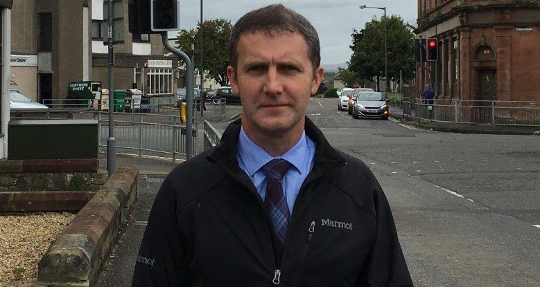 Michael Matheson wants Scottish seafood to have priority access to ferries if there's a no-deal Brexit. Photo: Michael Matheson website.