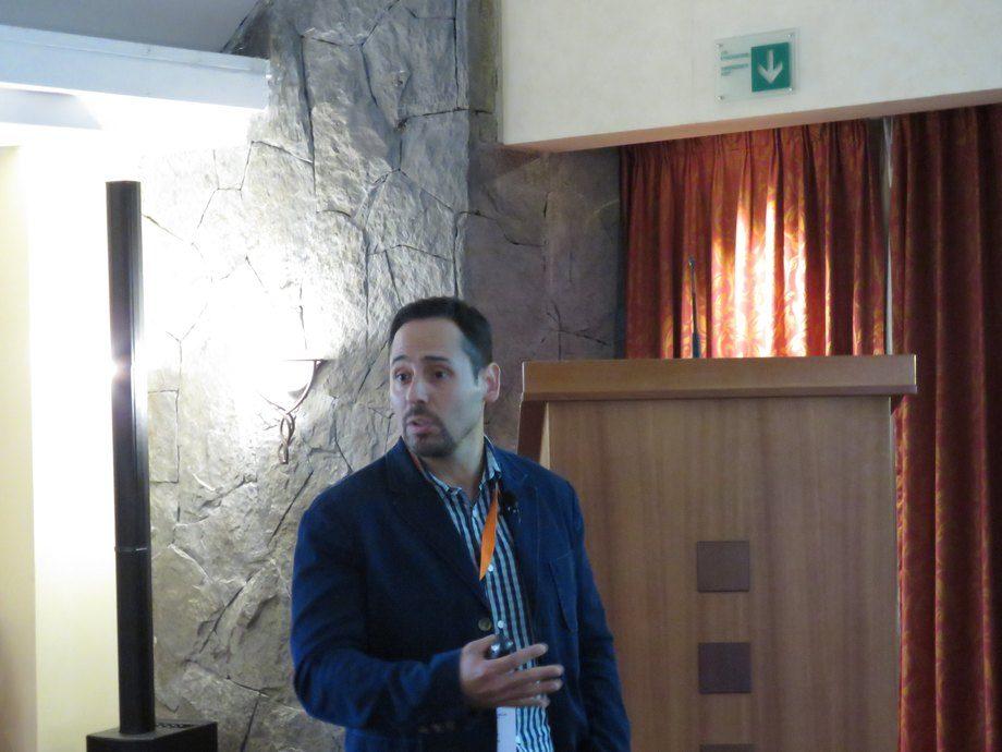 Marcelo Cortés, investigador y académico de la Universidad de Santiago de Chile. Foto: Francisco soto, Salmonexpert.