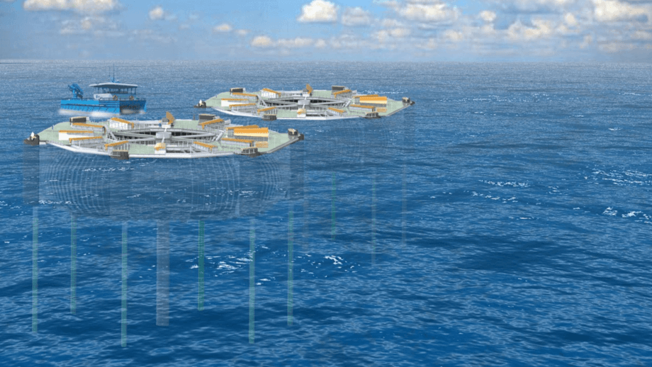 Mowi has been granted two of the eight development licences it wanted for ØPD's Marine Donut. Image: Mowi.