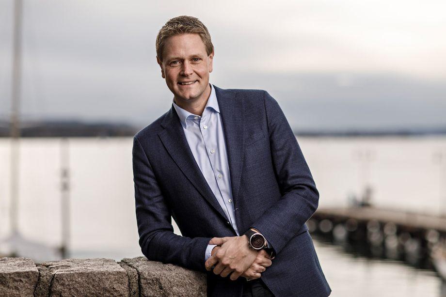 Harald Solberg, administrerende direktør i Norges Rederiforbund. Foto: Norges Rederiforbundet.
