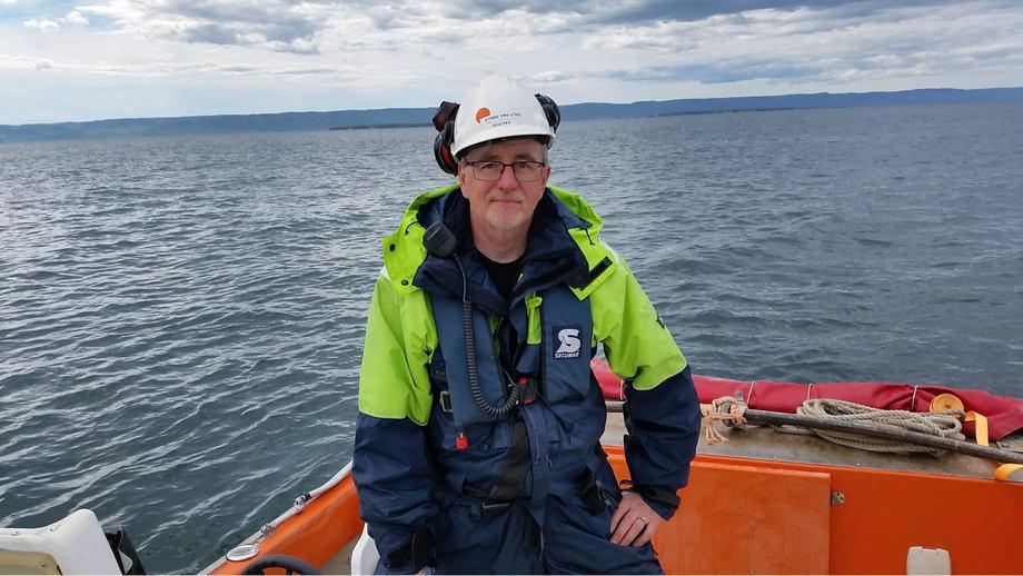 Kyrre Vikestad ser frem til begynne å jobbe i akvakulturbransjen. Foto: Privat