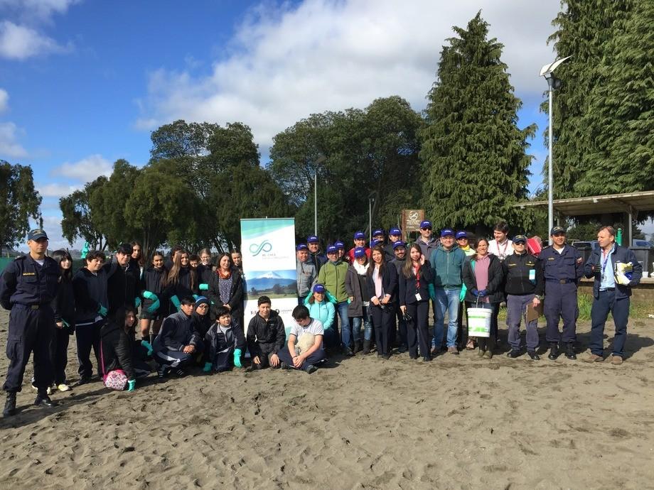 El programa ReCrea trabaja ahora con colegios de Puerto Varas, Llanquihue y Puerto Montt. Foto: ReCrea.
