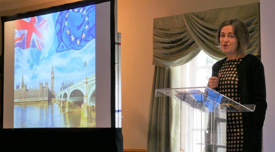 Julie Hesketh-Laird, directora ejecutiva de la SSPO. Foto: FFE.