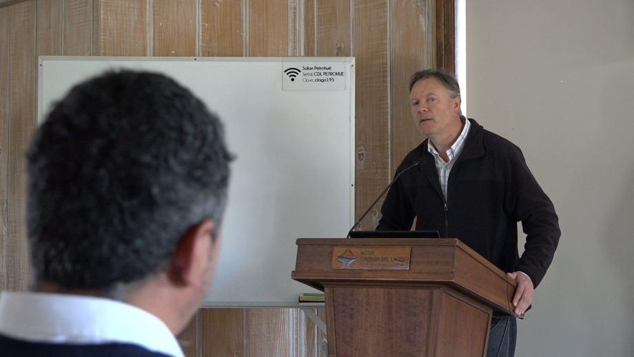 Dr. Robert Simpfendörfer, del Departamento de Acuicultura ULagos. Foto: ULagos.