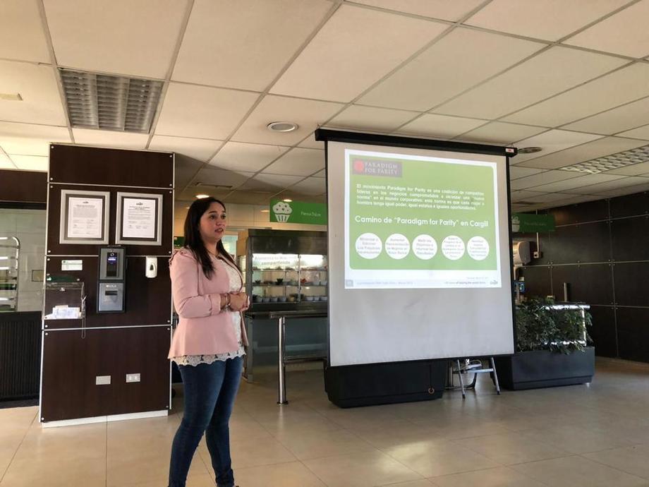 Liz Herrera, líder del proyecto de inclusión y diversidad de Cargill. Foto: Cargill.
