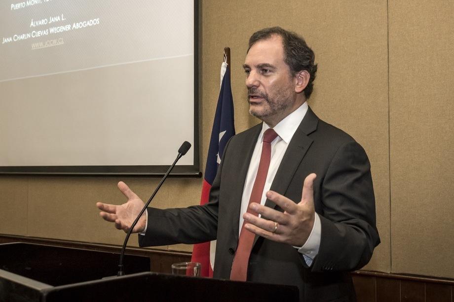 Álvaro Jana, asesor legal de Armasur. Foto: Armasur.