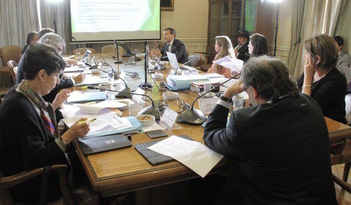Comisión de Medio Ambiente y Bienes Nacionales del Senado. Foto: Senado.