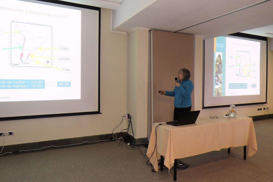 Investigadora Universidad de Valparaíso, Doris Oliva. Foto: Karla Faundez, Salmonexpert.