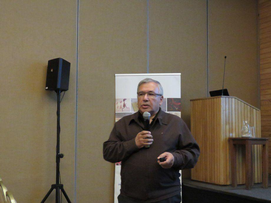 Dr. Sergio Marshall, investigador y académico de la Universidad Católica de Valparaíso y parte del Laboratorio de referencia Mundial OIE para el virus ISA. Foto: Archivo Salmonexpert.