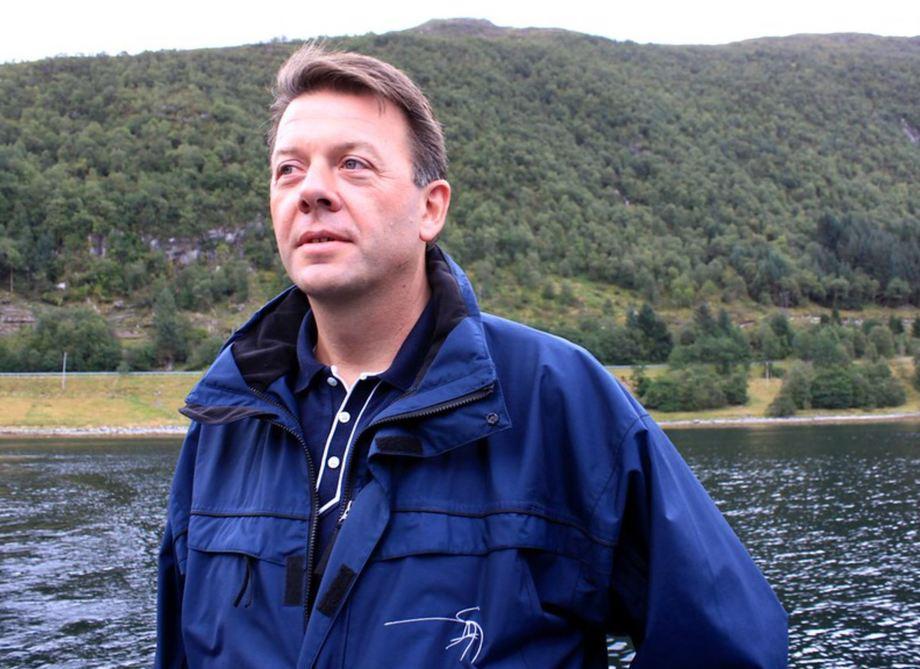 Terje Andreassen er prosjektleder for Stad Skipstunnel i Kystverket. Foto: Kystverket