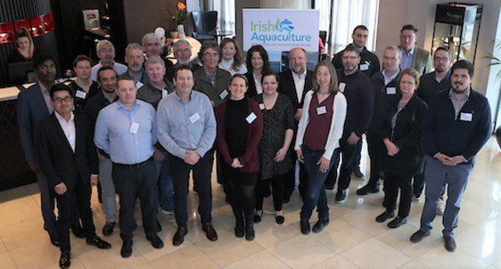 Some of the 35 delegates who attended the IATIP event in Dublin. Photo: BIM.