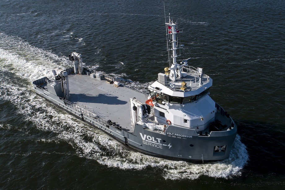 «Volt Processor» er Volt Service AS sin første båt