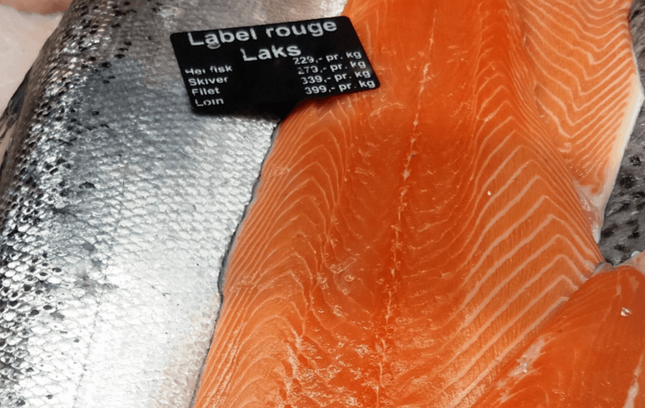 Norges Sjømatråd rapporterer om rekordmåned for laks sammenlignet med april i fjor. Foto: Harrieth Lundberg.
