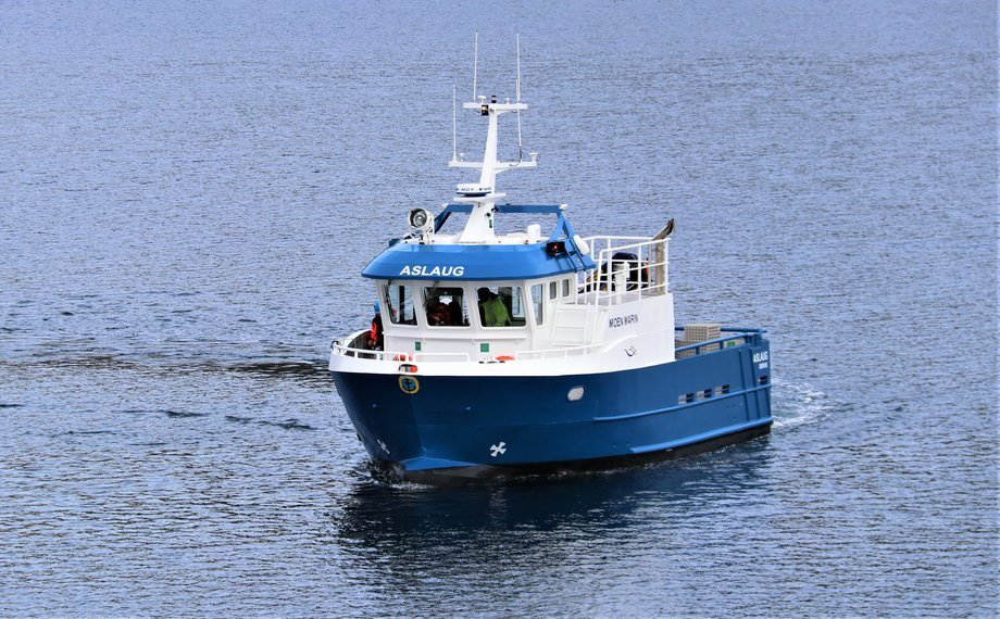 MS «Aslaug» er overlevert fra Moen Marin til Emilsen Fisk