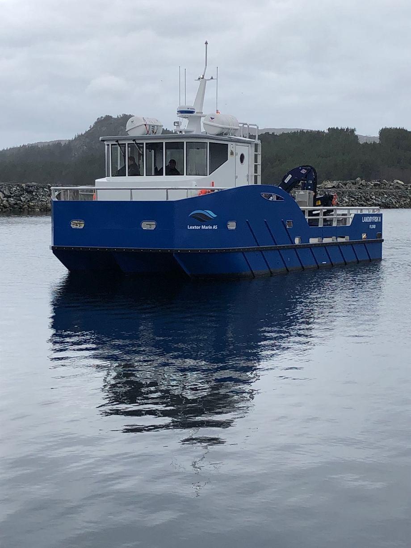 «Landøyfisk» er overlevert til Landøy Fiskeoppdrett