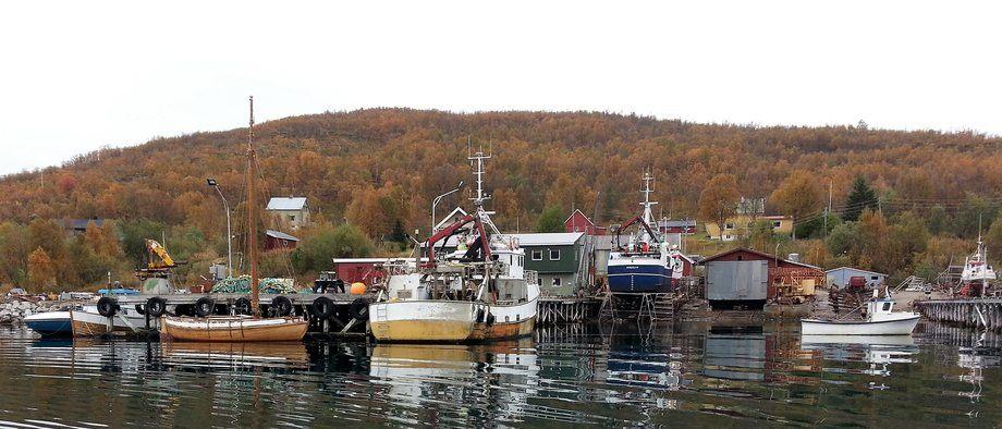 Moen Marin og Olsens Verft inngår avtale om service-hub for havbruks- og fiskerinæringen i Nord-Troms. Foto: Moen Marin.