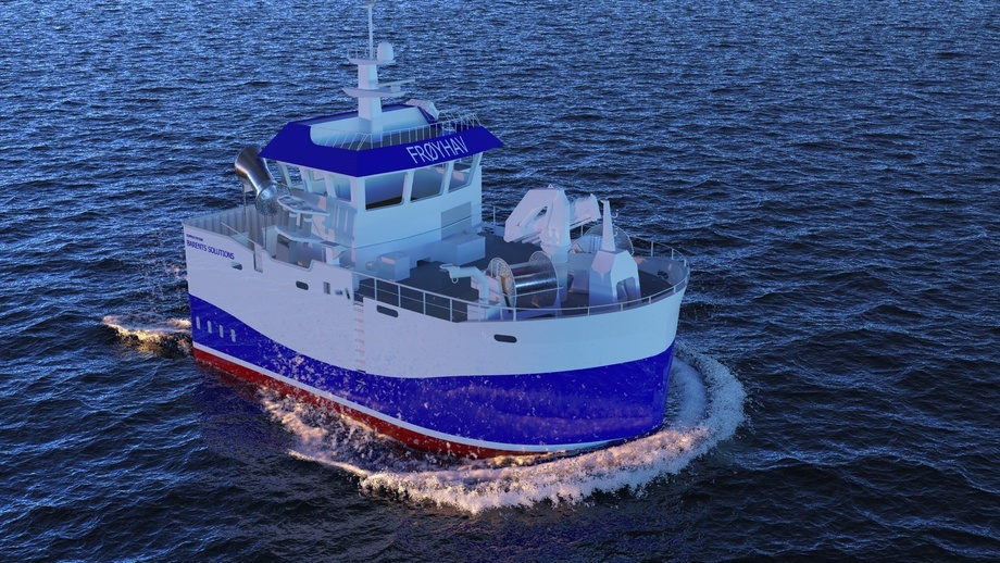 – Båten vert truleg den største snurparen i Norge med hensyn på lastekapasitet for båtar med lengde inntil 15 meter. Foto: Barents.