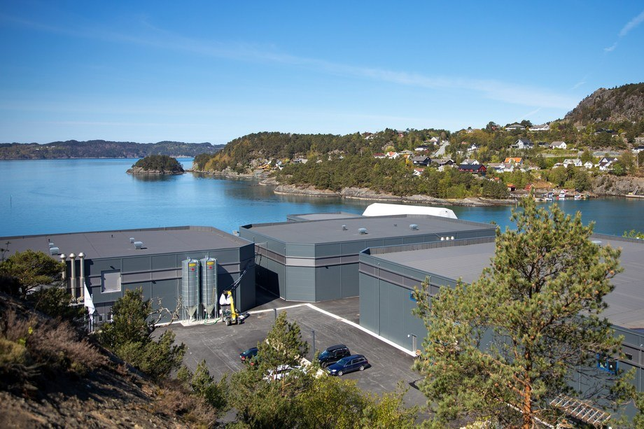Nofitech har levert tre RAS-moduler til Erko Settefisk på Stord. Foto:Nofitech.