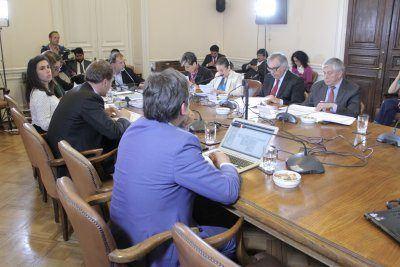 Comisión de Medio Ambiente del Senado. Foto: Senado.