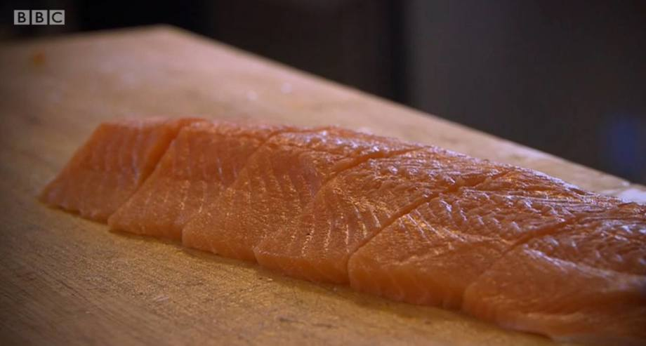 The BBC's Panorama programme focused on Scottish salmon farming. Image: BBC.