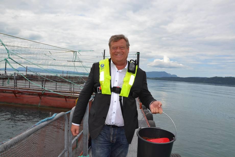 Harald T. Nesvik forteller at han ønsker å hindre at PD blir spredd. Foto: Margarita Savinova