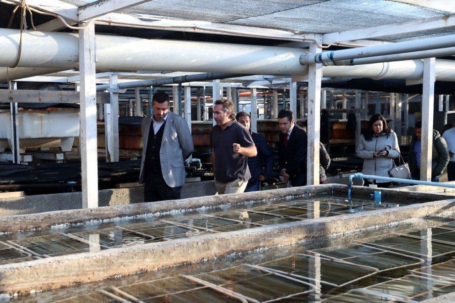 Vicepresidente Ejecutivo de Corfo, Sebastián Sichel y el gerente general de Colorado Chile, Piero Magnolfi. Foto: Corfo.