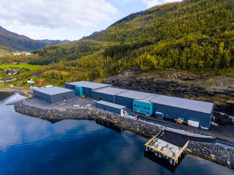Planta de ovas de salmón de Benchmark en Salten, Noruega. Imagen: Benchmark.