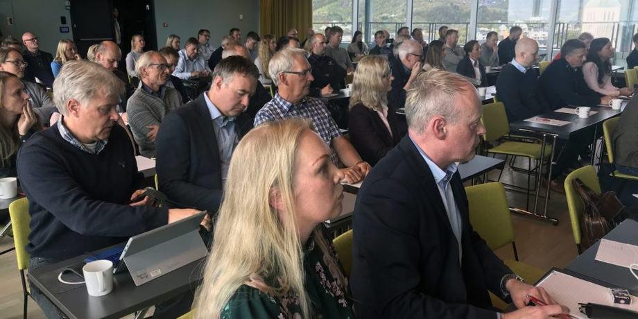 Det var stor oppmøte da Sjømat Norge samlet medlemmer i Svolvær denne uken. Foto: Sjømat Norge.