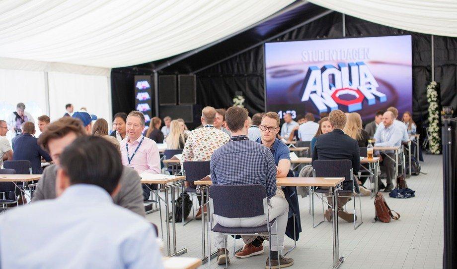 Under årets Aqua Nord vil det  arrangeres  en studentdag. Foto: Aqua Nord